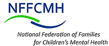 Logo, text reads: NFFVMH National Federation for Children's Mental Health