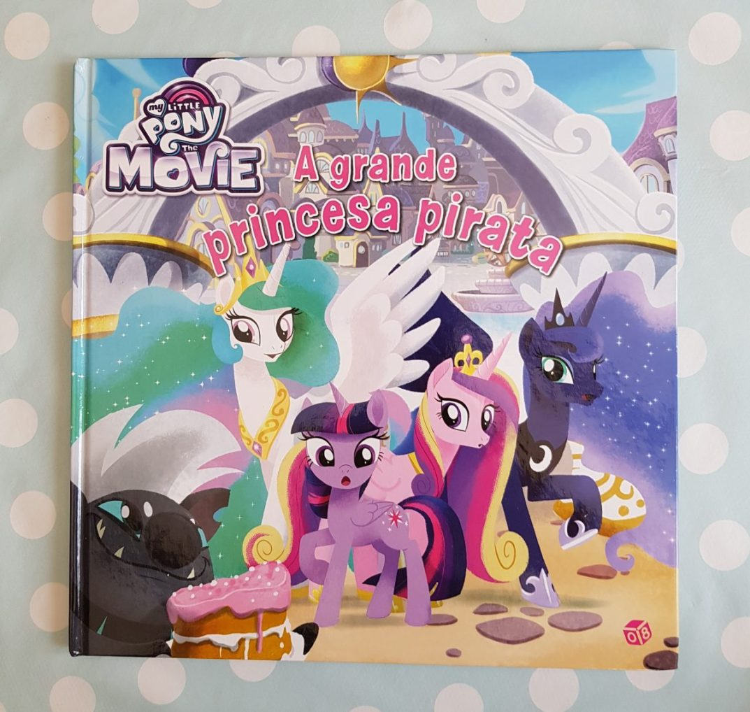 captivate bilingual children towards target language resources -My Little Pony book cover