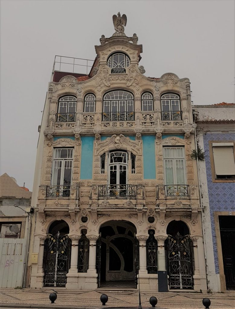 Art Deco house in Aveiro Portugal