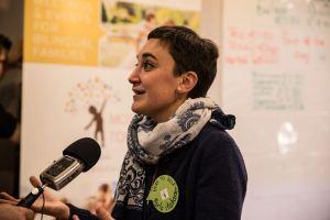 Dr Francesca La Morgia, Director of Mother Tongues