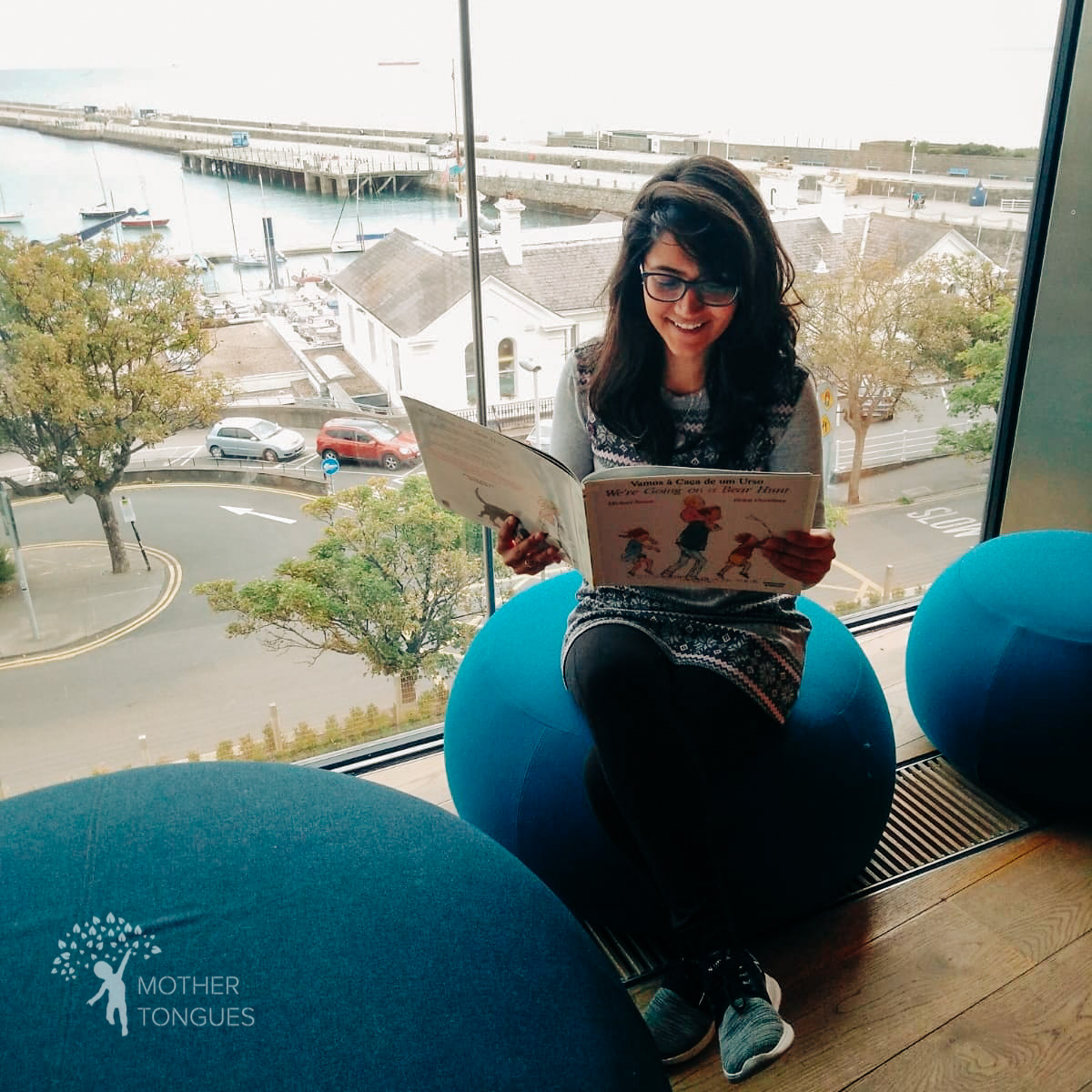 Multilingual storytelling at Dun Laoghaire