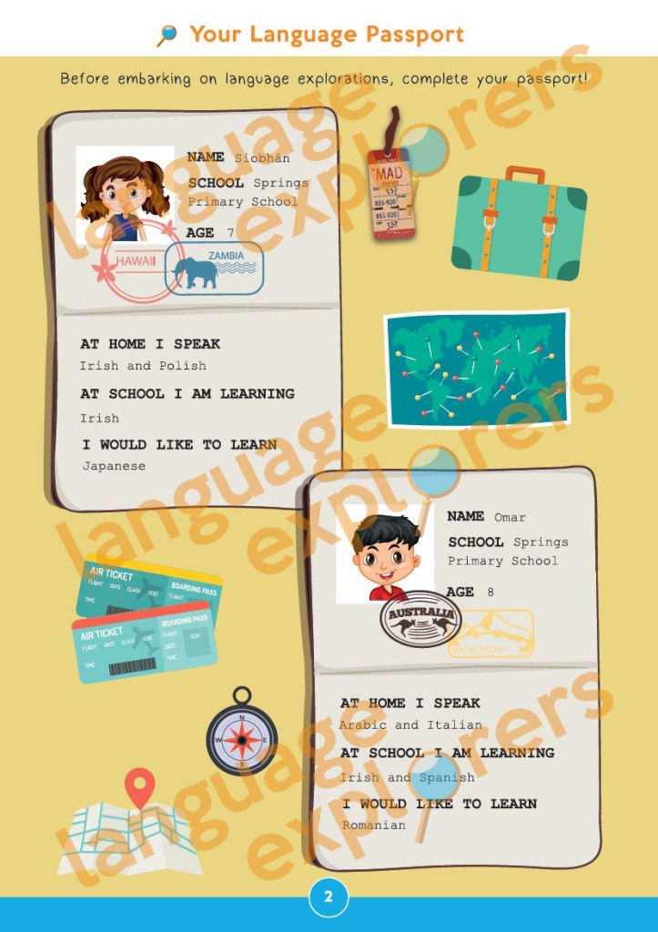 Language Explorers - Sample page