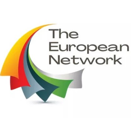 the european network logo
