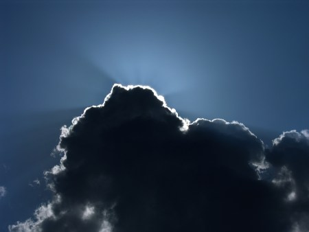 dark cloud with silver lining