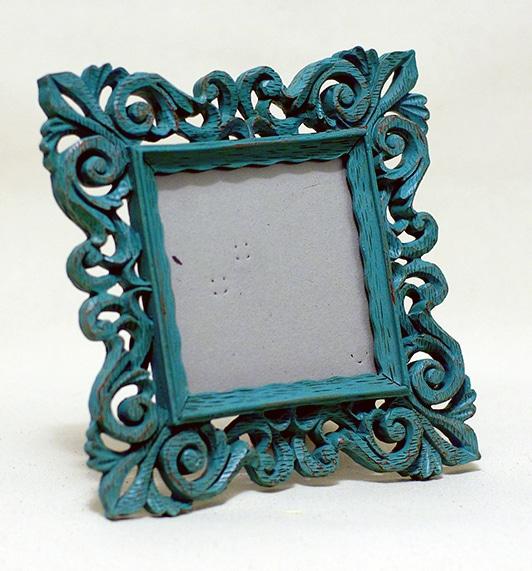 Blue Victorian Frame 44 Motif Event Rentals Wedding
