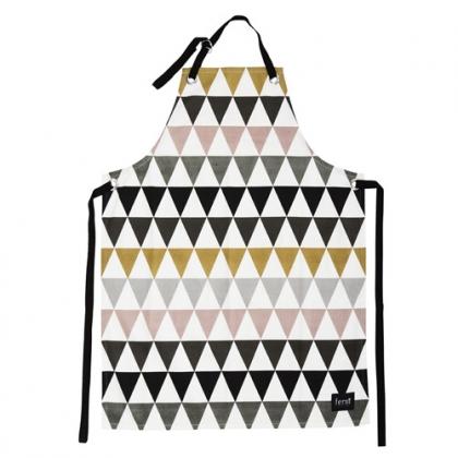 tablier-triangle-ferm-living-multicolore