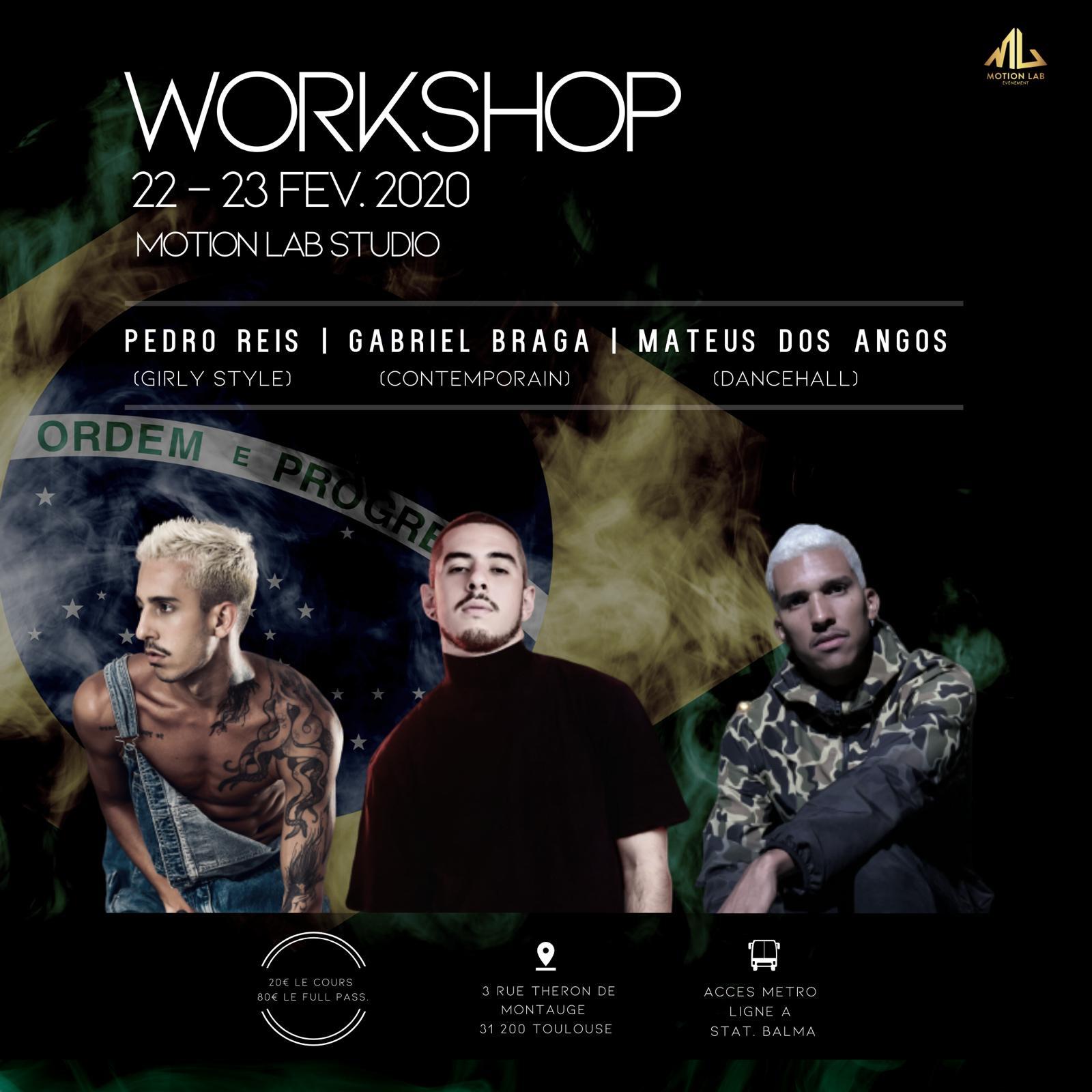 workshop street jazz dancehall danse contemporain