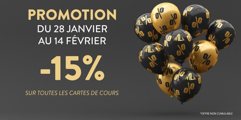 Promotion 15%