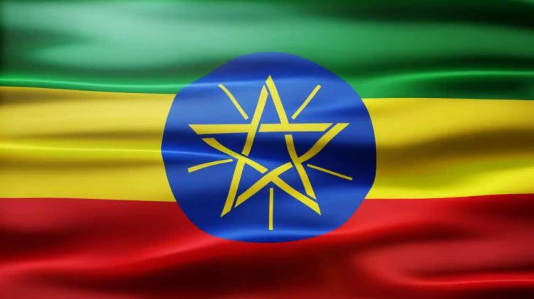 Ethiopia Flag Stock Motion Graphics Motion Array