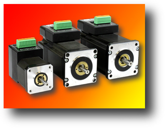 Motion Control - AMP NEMA 24 integrated Steppers