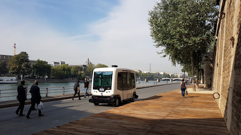 Allianz Worldwide Partners Insures EasyMile Driverless Electric Shuttles