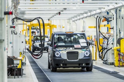 Geely London Taxi Company Opens New plant produce electric taxi