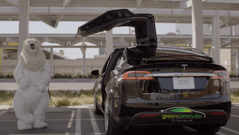 Green Commuter using Tesla Model X to start first car-sharing vanpool services in US