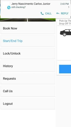 DENSO MDrive Study Reveals Future of Electric Mobility is in Car-sharing MDrive App overview book start trip request lock unlock