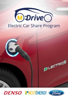 DENSO MDrive Study Reveals Future of Electric Mobility is in Car-sharing
