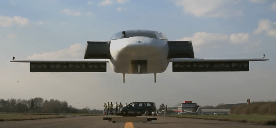 Lilium Celebrates Successful Test Flight of World First Electric VTOL Jet on-demand ride-sharing ride-hailing air taxi