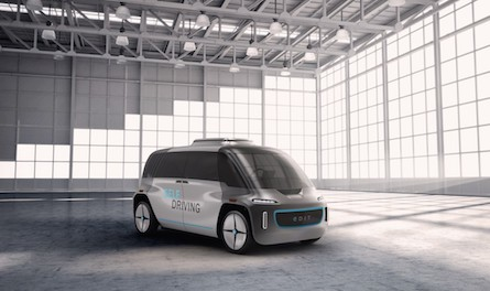 OSVehicle Launches the World first Modular Self-Driving Electric Car 'EDIT'