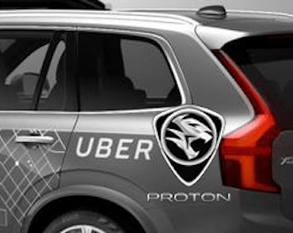 Why Proton is Set To Join the Disruptive Drive Uber ride hailing Geely Volvo electric self driving taxi