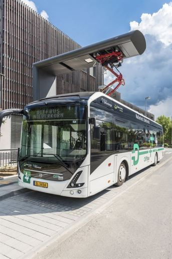 Volvo's Electric Buses Starts Operation in Luxemburg Volvo 7900 OppCharge by Heliox electric vehicle