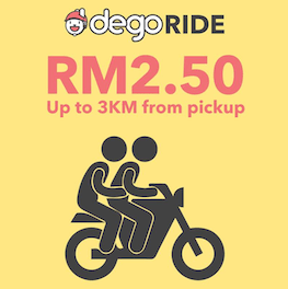 Malaysian Bike Taxi Dego Ride-hailing Set to Return urban mobility last mile connectivity