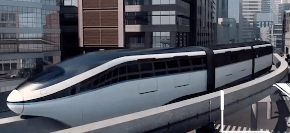 BYD First Commercial SkyRail Line Launched in Northwest China monorail public transport sustainable urban mobility