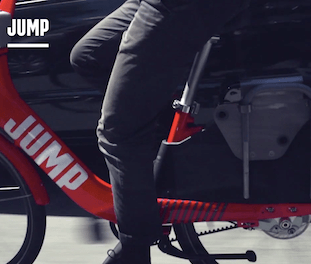JUMP is the First Dockless, Electric-Assist Bike Sharing Bikes to Hit The Streets bicycle sustainable personal urban mobility