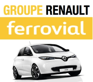 Renault and Ferrovial Offers Electric Car Sharing Service in Madrid sustainable urban mobility