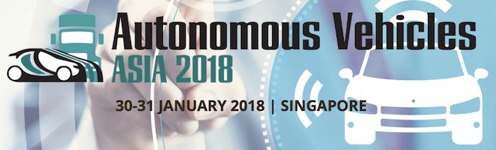 Autonomous Vehicles Asia Conference 2018 urban mobility