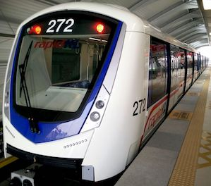 Bombardier Completes Delivery of 14 New Driverless Metro Trains for Kuala Lumpur urban mobility