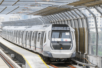 Ridership on the Rise for Malaysian Rail Transit System MRT LRT monorail Komuter KTM urban mobility