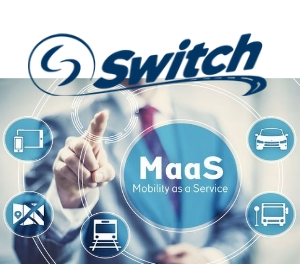Switch Transit App Simplifies Commuting for Public and Private Transit ride hailing sharing urban mobility