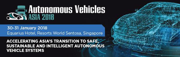 Autonomous Vehicles Asia 2018 Singapore urban mobility self driving driverless