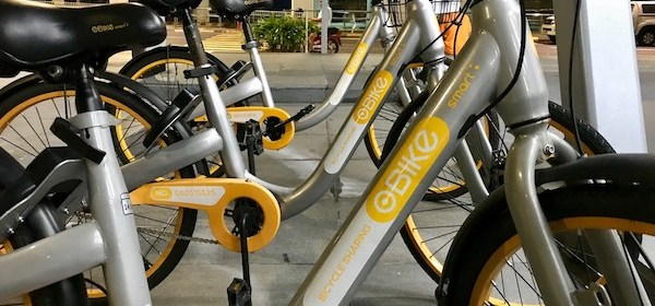 Southeast Asia Bike-sharing oBike Helps out Penang Flood Victims bike rental PrayforPenang urban mobility CSR