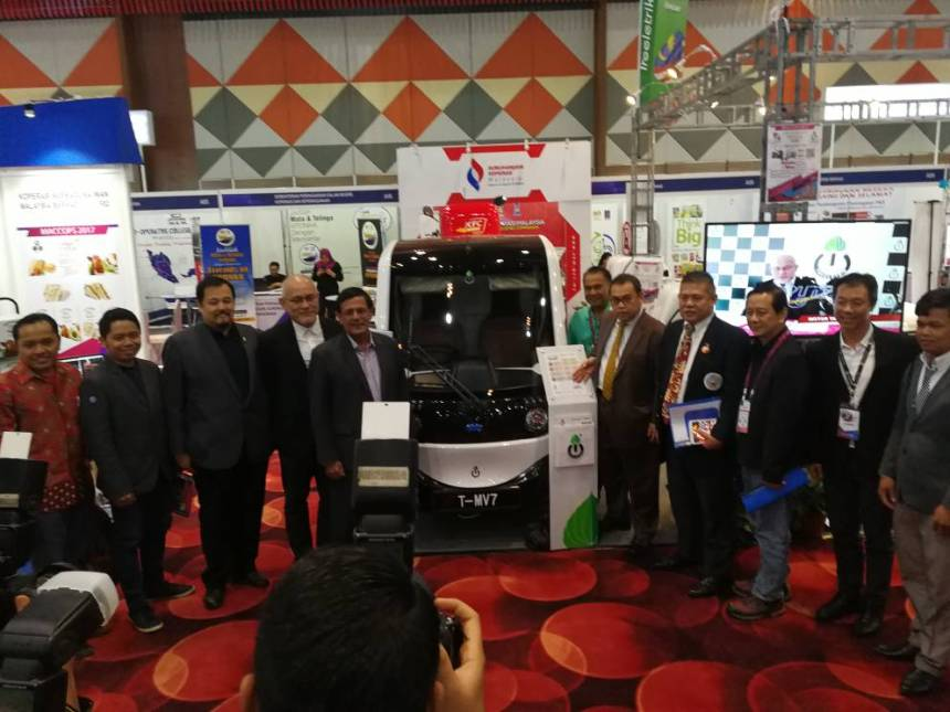 Treeletrik Partners ACO For EEV Development and Marketing In Asean electric vehicle truck pick-up T-MV7 sustainable urban mobility electric commercial vehicle