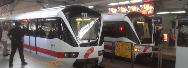 Rapid Rail deploys new married 4 car train set Prasarana light rail transit lrt urban mobility