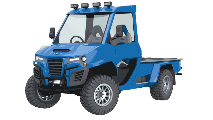 AEV Technologies Unveils New Electric Vehicle Lineup At CES 2018 511 4wd truck EV