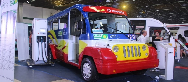 Philippine's Electric Vehicle Industry Upbeat for 2018 EVAP sustainable urban mobility EV Jeepney eTrike