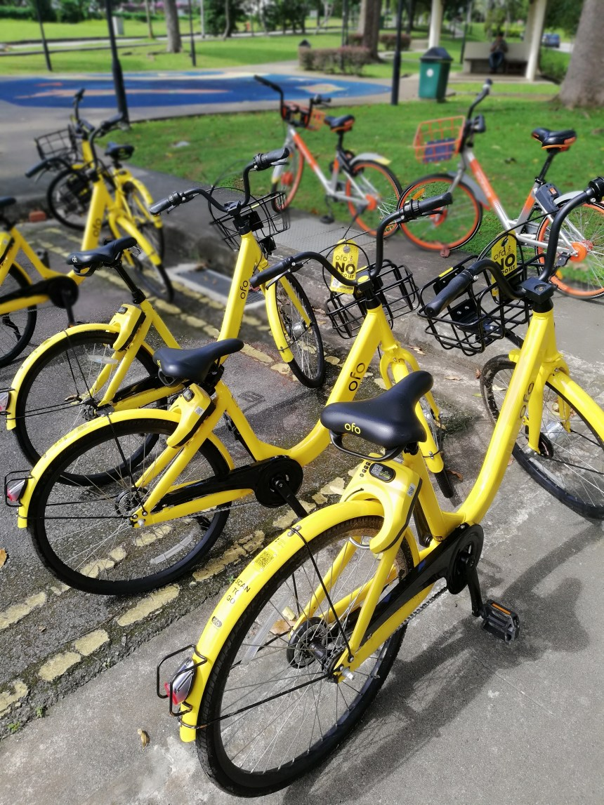 Kuala Lumpur cycling lane best option is to use ofo bike sharing if you do not have a bicycle