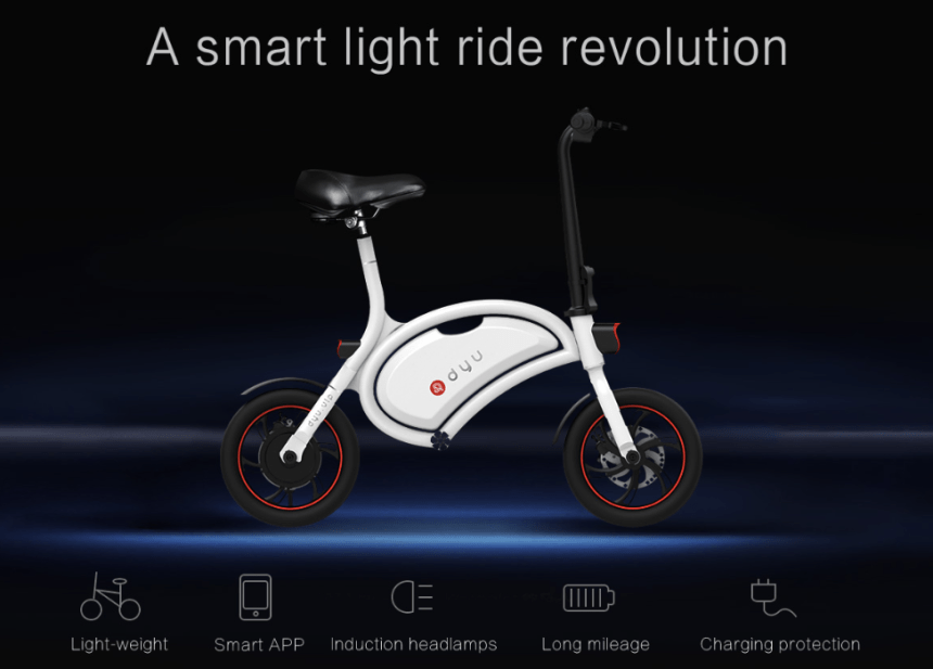 DYU Electric Smart Bike Starts Singapore Operation Center model DYU SMart Bike D1 D2 A1 sustainable car lite personal urban mobility device