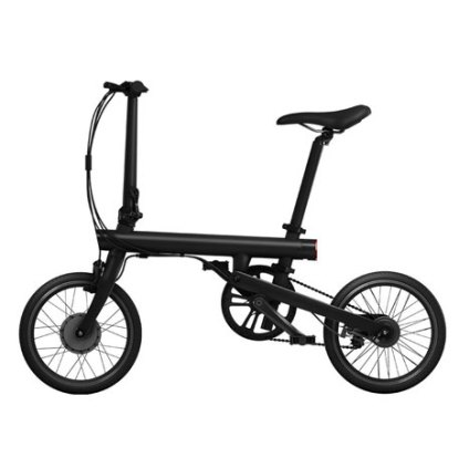 Xiaomi mijia qicycle folding electric bike pure pedal assist bicycle