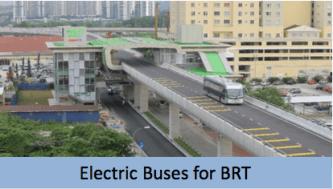 Electric Mobility Prasarana Bus Rapid Transit electric bus