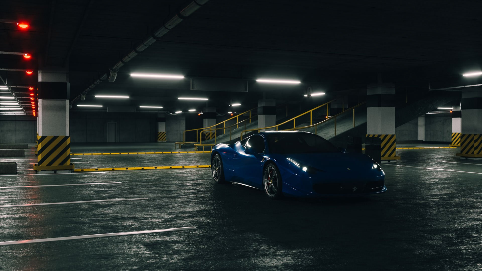 Cinema 4D Octane Car Paint - 160 Shaders & Lighting Environments