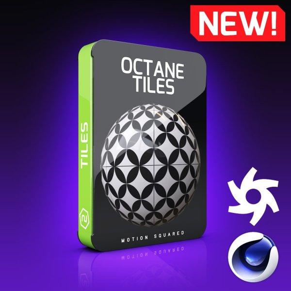Octane Tiles Texture Pack for Cinema 4D