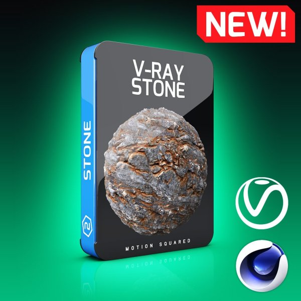 V-Ray Stone Texture Pack for Cinema 4D
