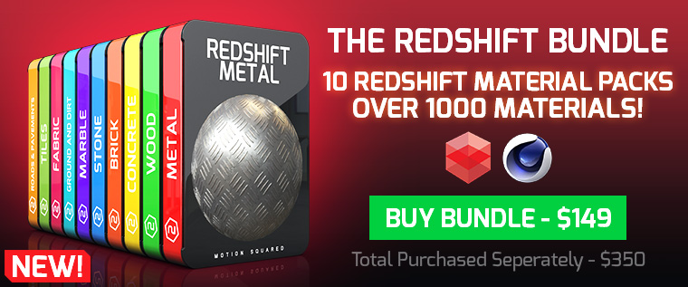 cinema 4d redshift materials