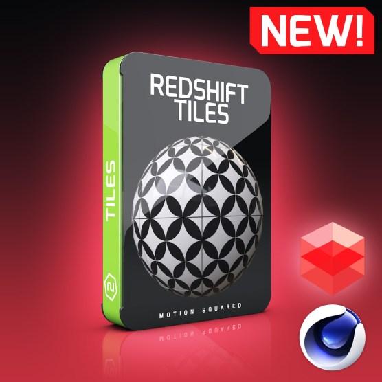 Redshift TileMaterials Pack for Cinema 4D