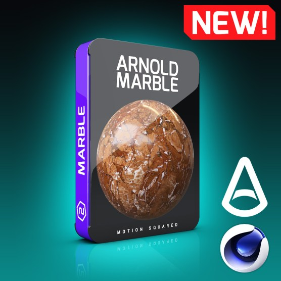 Arnold Marble Materials Pack for Cinema 4D