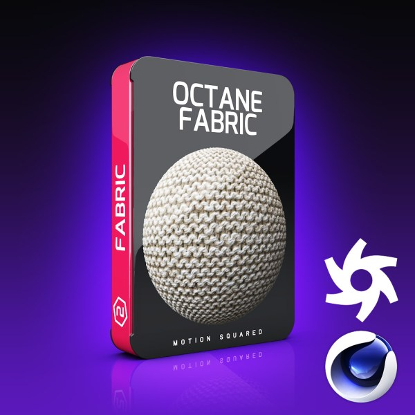 Octane Fabric Materials Pack For Cinema 4D
