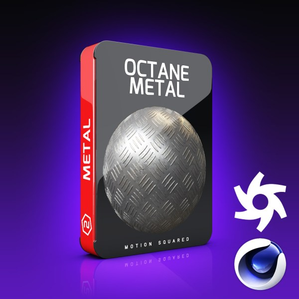 Octane Metal Materials Pack for Cinema 4D - MOTION SQUARED