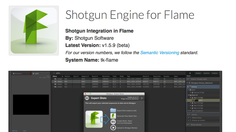 Shotgun Flame Engine